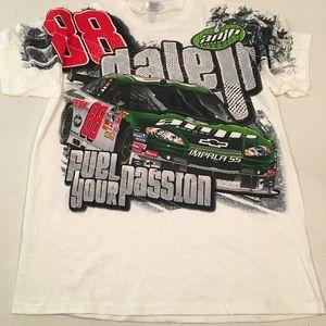 Nascar dale Earnhardt jr amp energy racing t shirt